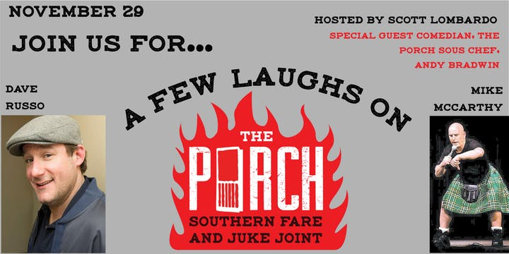 The Porch - A Aomedy Event